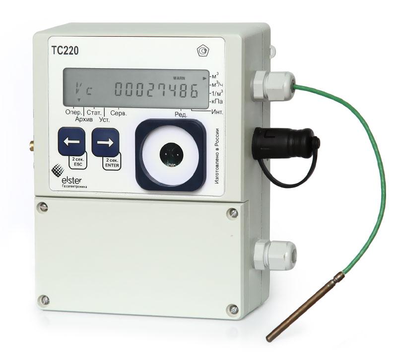 Электронный температурный корректор объема газа ТС-210